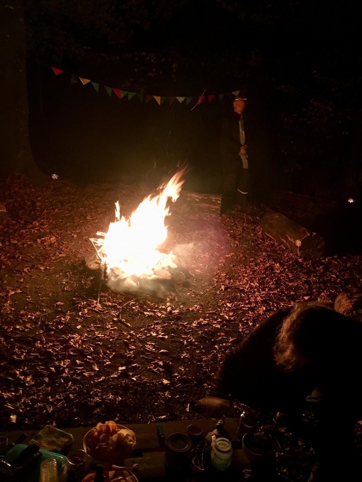 Übergangsritual anlässlich Samhain